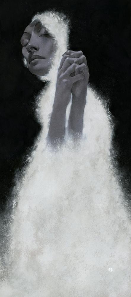 Edward Kinsella Illustration: Yūgen at Ghostprint Gallery #illustration