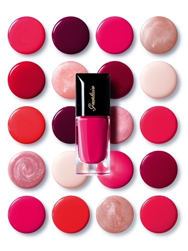 All the colors you're craving. #guerlain #nails