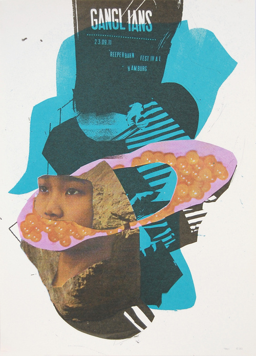 Poster archive - Damien Tran #collage #poster