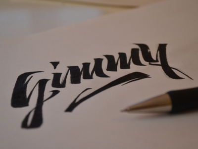 Gimmy #lettering