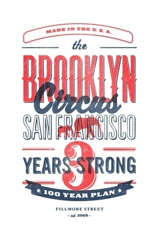http://pinterest.com/pin/34199278390087703/ #type #circus #brooklyn
