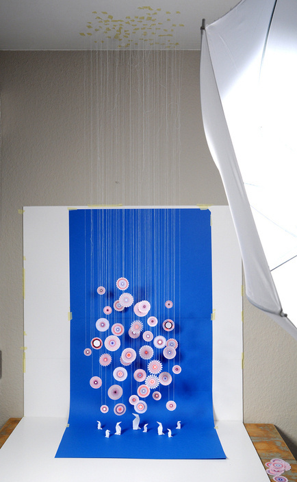 Snowflakes & Spirograph #paper