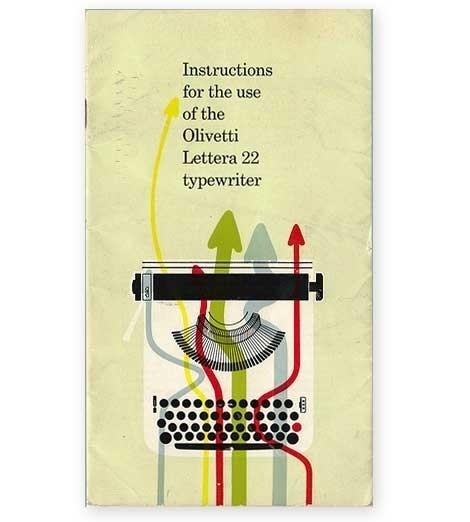 grain edit · Olivetti Lettera 22 Manual #22 #olivetti #instructions #manual #lettera #typewriter