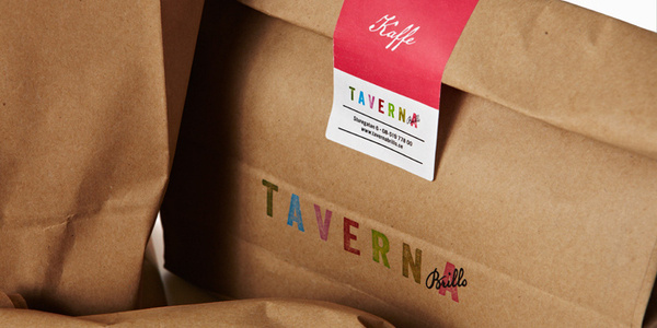 Taverna Brillo The Dieline #stamp #lettering #packaging #label #food