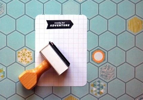 swissmiss #adventure #stamp #typography