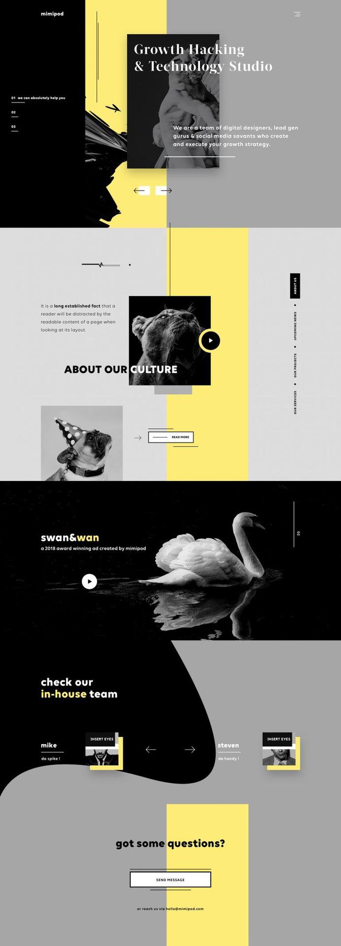 Mimipod – Digital Agency