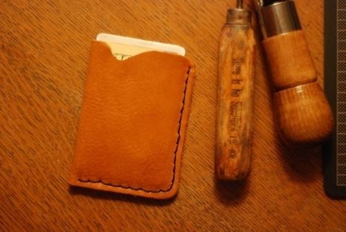 Michael Thomas Carey #diy #handmade #leather #wallet