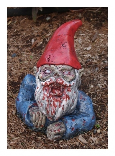 Milan based inspirational blog | Think.BigChief #garden #zombie #gnome