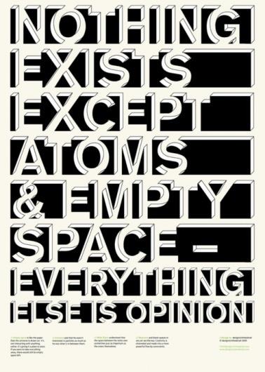 Buamai - esthétique. #existance #opinion #atoms #space