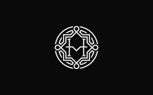 HM - Logos - Creattica #mark #logo #identity #branding