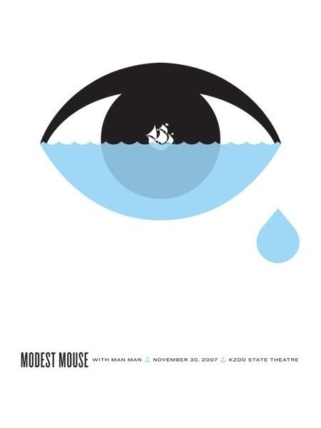 25 beautiful gig posters | The Hatched Blog #design #illustration #art #poster #music #gig