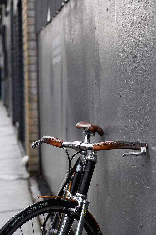 Drop Anchors #bicycle #leather #bike