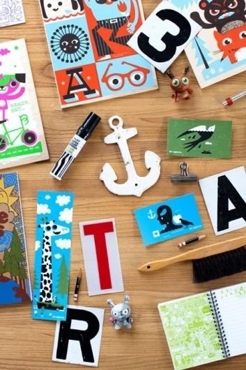 Stationary / Design*Sponge #toys #illustration