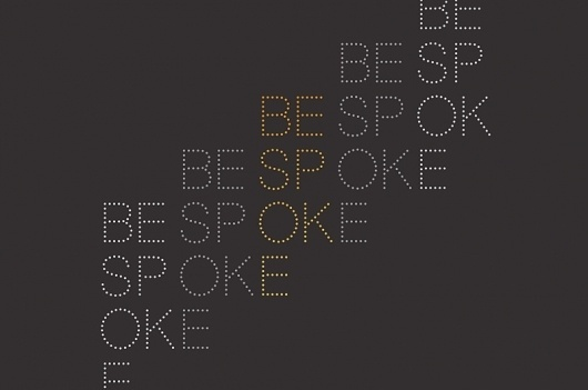 Bespoke_Identity.jpg 800×530 pixels #print #design #graphic #kent #lyons