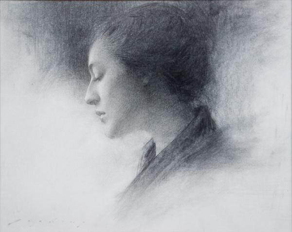Jeremy Lipking #graphite #drawing #art #fine