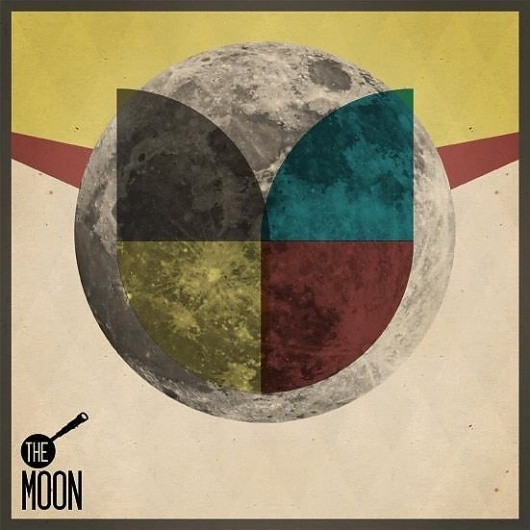 THE_MOON on the Behance Network #digital #design #graphic #art