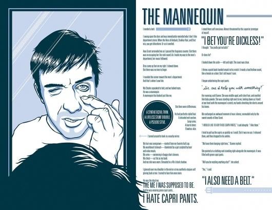 MannequinSpread2.jpg (JPEG Image, 880x680 pixels) #illustration #design #typography
