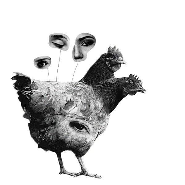An eye for an eye #modern #surrealism #vintage #art #collage