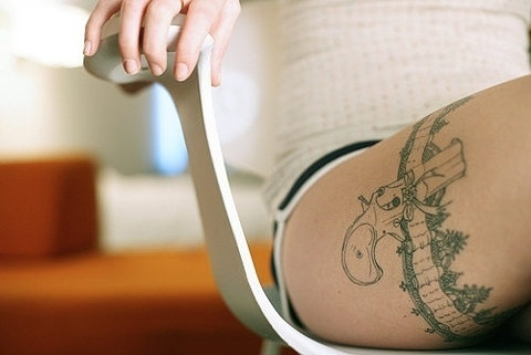 FFFFOUND! | Violet Voice - Damn cool tat! ... #tattoo #photography