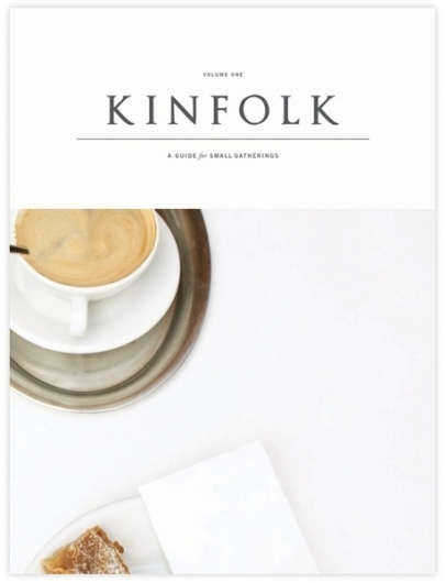 Kinfolk Shop — Volume One #magazine #print #kinfolk #branding