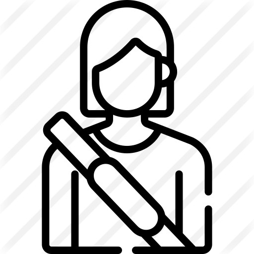 See more icon inspiration related to seat belt, transportation, driver, passenger, user, woman and avatar on Flaticon.