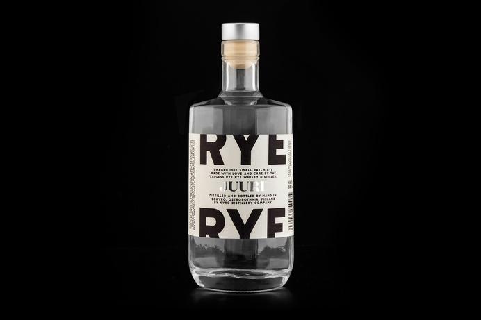 Kyrö Distillery Company — Werklig #whiskey #bottle #packaging #rye #print #product #package #foil