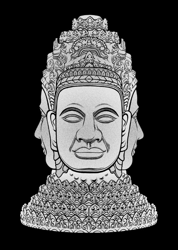 Khmer Graphics #khmer #design #cambodia #art #graphics