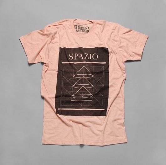 Ill Studio - Spazio #abstract #illustration #tee #shirt