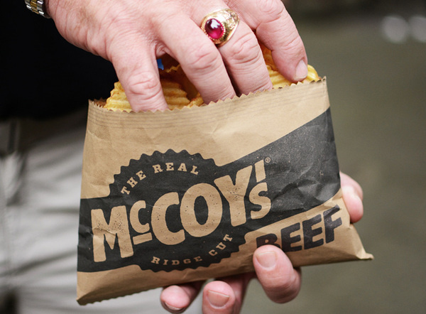 McCoy's Packaging Concept #packaging #crisps #food