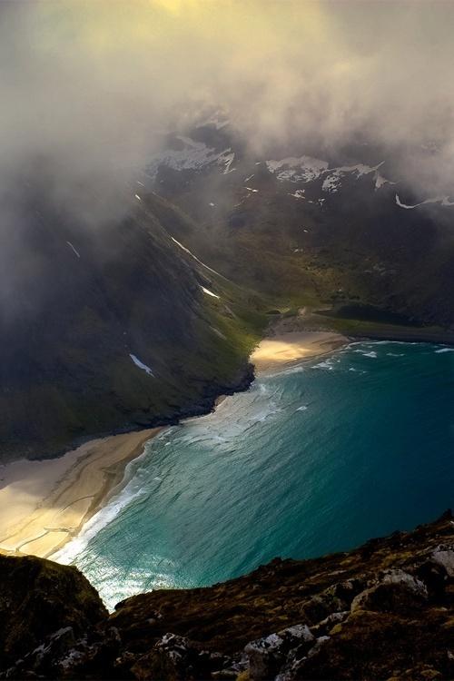CJWHO ™ (Kvalvika og Vestervika by Stein Liland Hiking...) #ocean #kvalvika #landscape #photography #nature #vestervika
