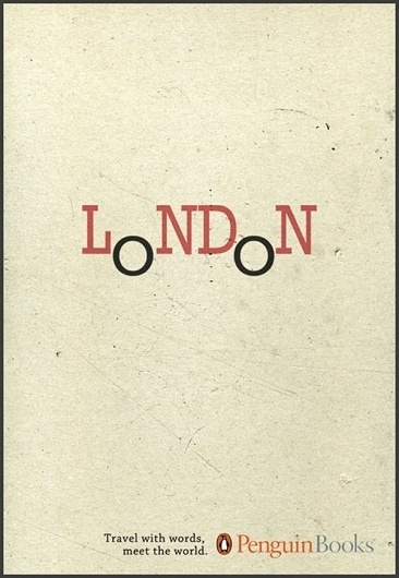 Penguin Books - Travel with words | bumbumbum #london #penguin #design #books