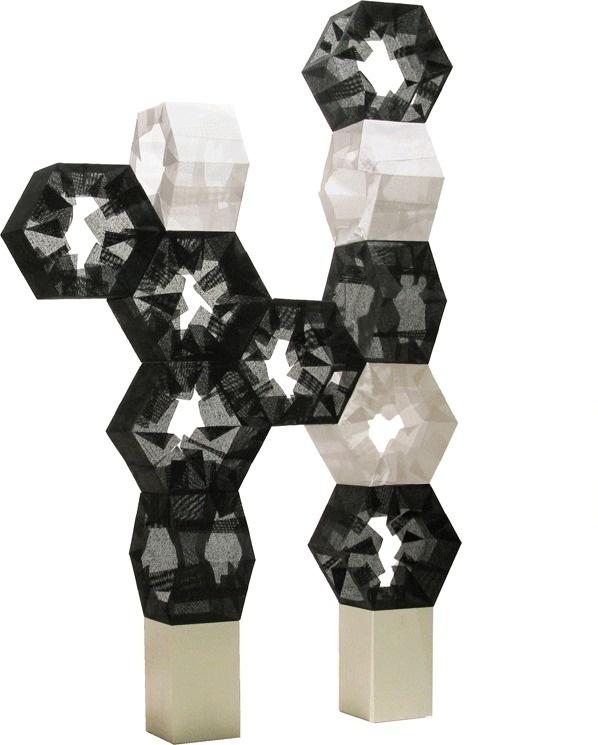 Tuplet - floor lamp by Taeg Nishimoto - www.homeworlddesign. com #lamp #design