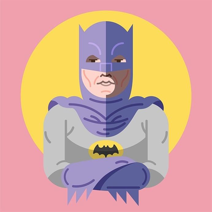 Batman&Robin #illustrator #illustration #vectorial