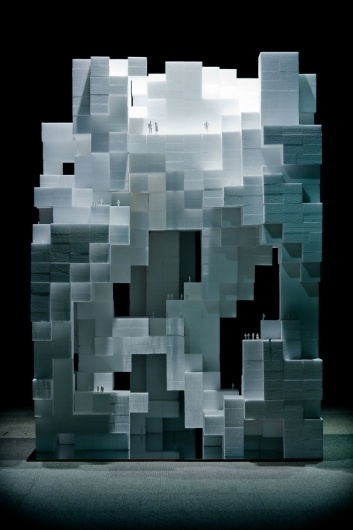source organization network: game of space #sculpture #cubes #monument #space