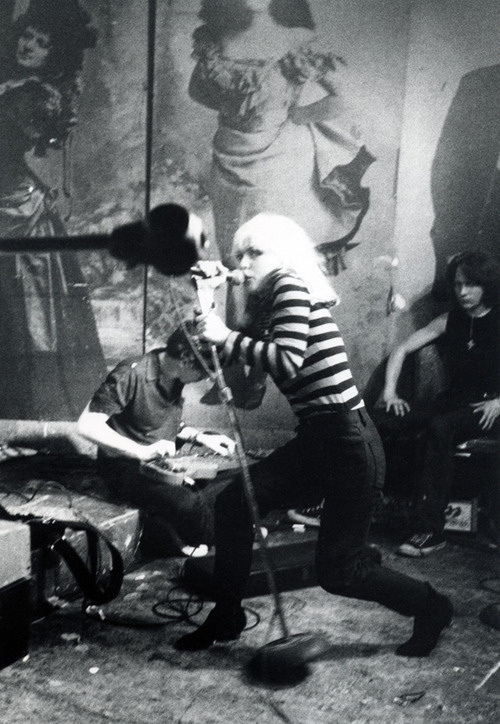 Debbie Harry at CBGB