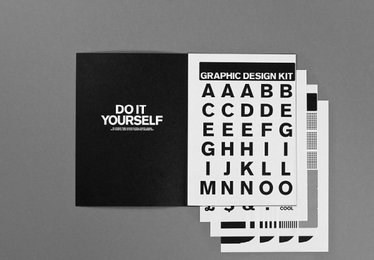 DIY Graphic Design : DEMIAN CONRAD DESIGN #layout #typography