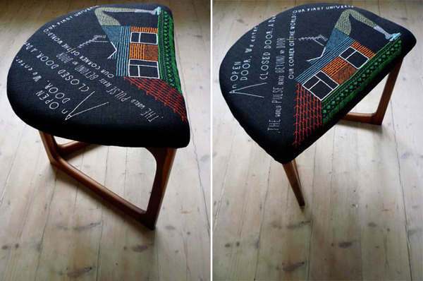Peter #interior #chair #furniture #embroidery