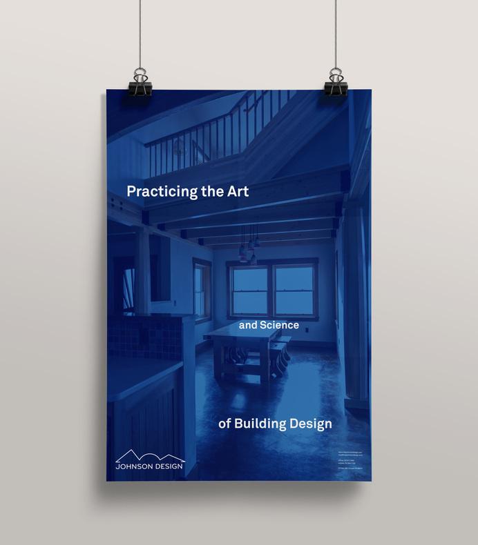 Johnson Design Poster - Mr Miles Johnson #design #home #johnson #direction #architecture #art #poster #blue #typography