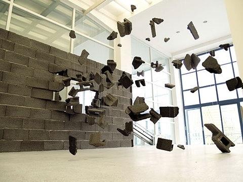 FFFFOUND! | 'the kaleidoscopic eye: thyssen-bornemisza art contemporary collection' at mori art museum, tokyo #concrete