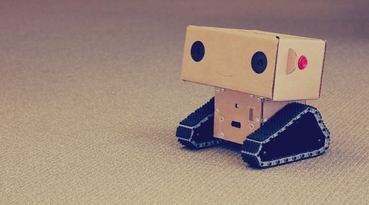 The Craft league (via janks) #tech #low #cardboard #robot