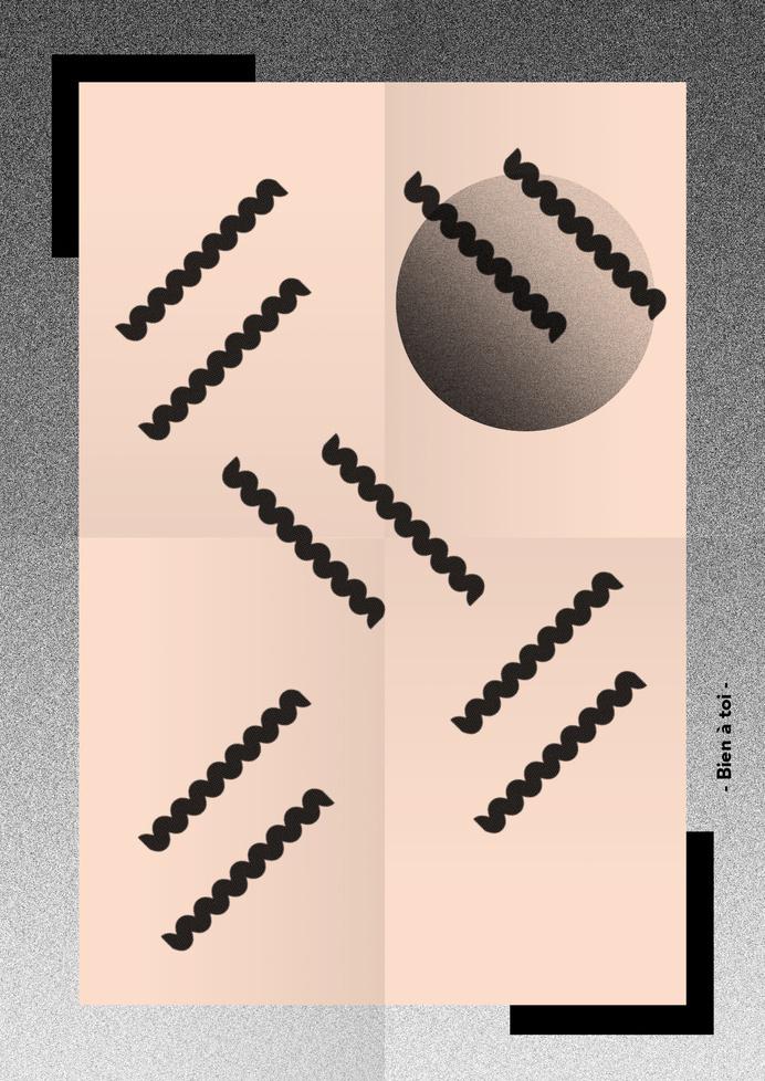 Bien a toi #design #graphic #poster