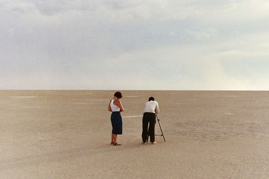 Unknown : Trevor Triano #people #nevada #filming #horizon #nothing #desert