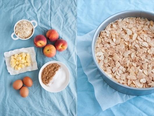 toasty biscuit » #cake #yoghurt #peaches