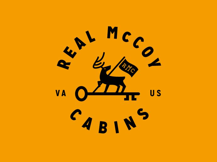Real McCoy Cabins - Scrapped Brand Identity Draft