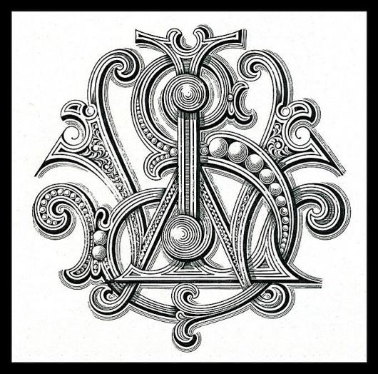 Walter L. Smith, Engraver | Sheaff : ephemera #smith #walter #monogram #engraver