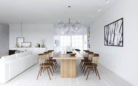 Norse Minimalism xe2x80x94 AT.Design&Viz #interior #white #design #black #minimal