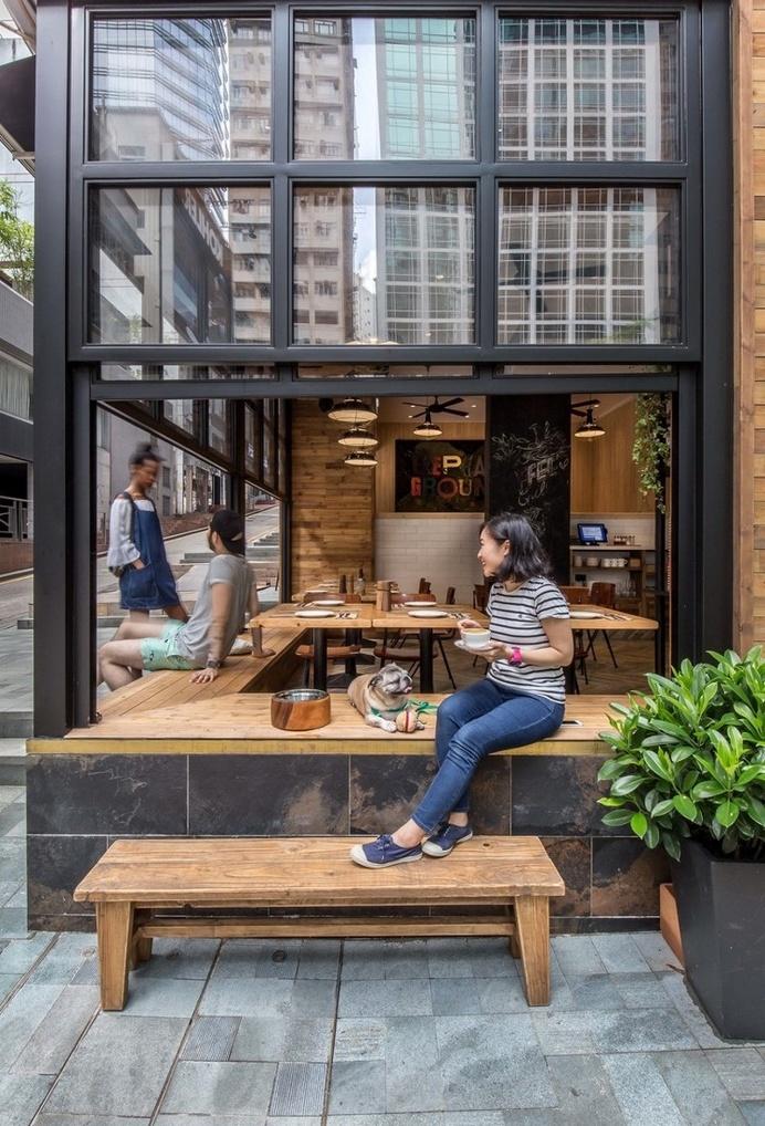 Elephant Grounds Coffee on Star Street by JJA / Bespoke Architecture