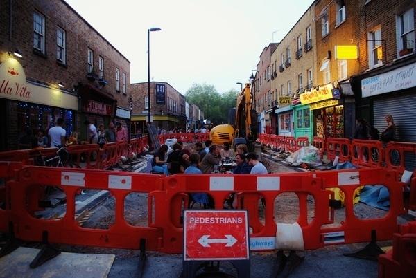 Lon Don 2012 on Behance #broadway #wallb #market #sign #london #pedestrians