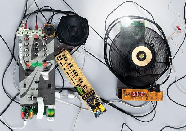 Elektronischer Abend   art knock life #electro #lettering #elektro #crafting #poster #trash #type #party