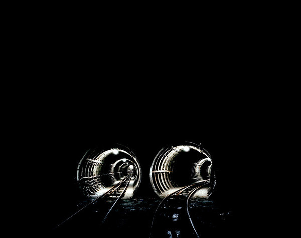 Dark Space Brendan Austin: Studio #train #underground #trains #tunnels #subway #tracks #subterranean #photography #rail